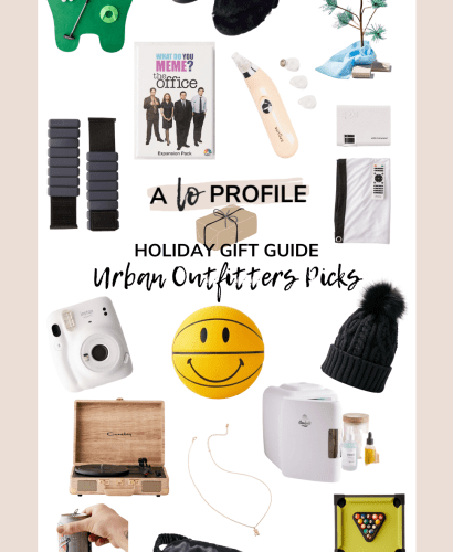 Sharing my UO gift guide featuring an easy to shop collage of the best gift ideas for anyone on your list from Urban Outfitters.