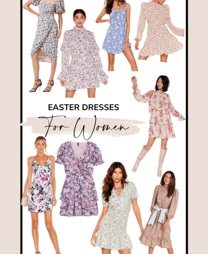 Sharing a roundup of cute Easter dresses you can wear this year no matter what your plans are. I love that so many of these dresses can be worn again, too!