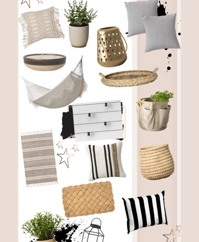 Sharing a roundup of affordable Target patio decor for Spring to help you get you refresh your outdoor spaces & enjoy the beautiful weather.