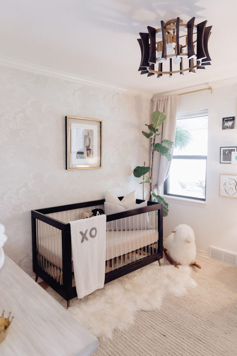 Today I am sharing our full nursery reveal featuring everything we got for baby boy's nursery including sources & shoppable links.