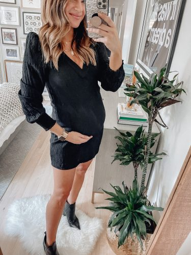 Sharing 14 styled looks from my 1st round of 2021 NSale shopping so you all can see what these non-maternity, but bump friendly pieces look like on!