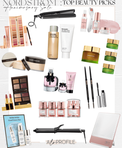 Sharing my top NSale beauty picks & more beauty finds broken down by category to help you navigate one of the best sections of the Nordstrom Sale.