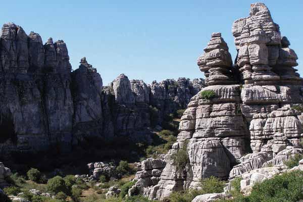 Visita guiada a la formación kárstica Torcal de Antequera
