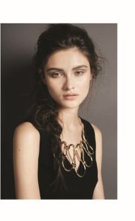 DRESS: Balenciaga Thuraya Mall. Necklace :Lanvin Al Ostoura Thuraya Mall