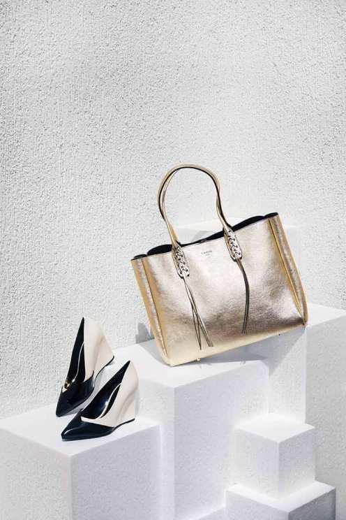 Bag: Lanvin - Thuraya Mall Shoes: Lanvin - Thuraya Mall, Al Ostoura The Avenues