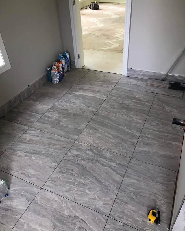 tile installation showroom home