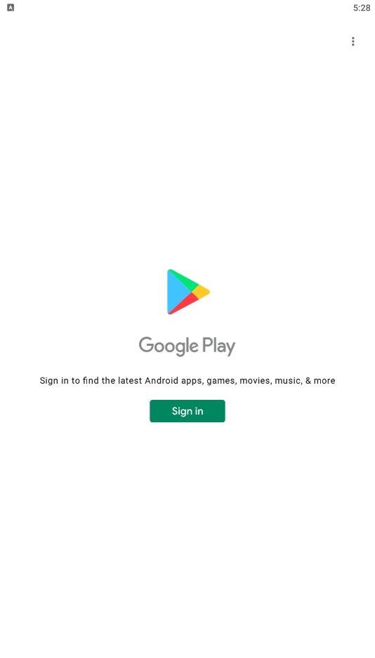 Google Play Step 1