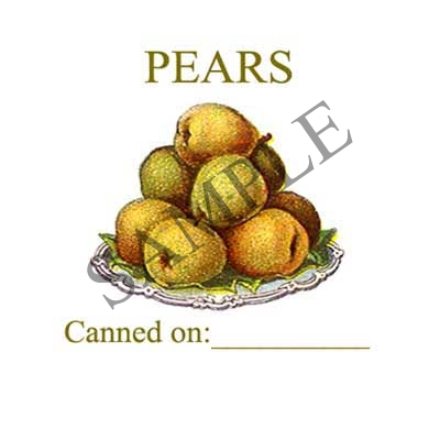 Pears Canning Label #L266