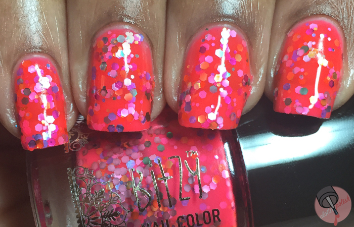 Bitzy Nail Color - Electric Cake