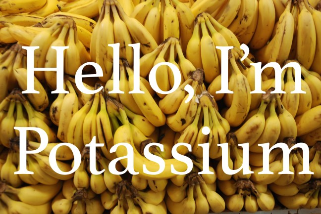 Potassium Bananas