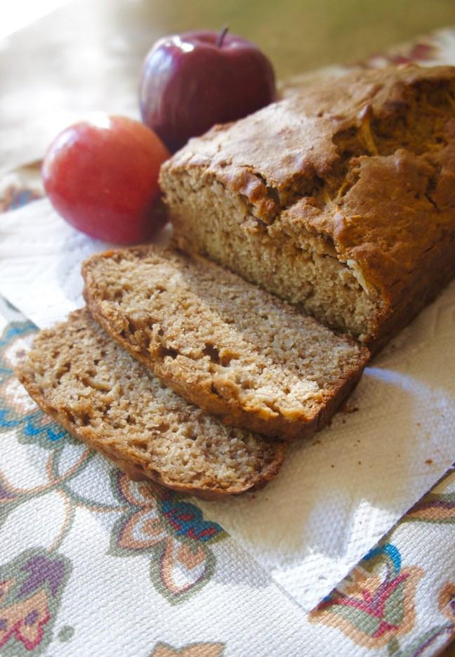 Spiced Applesauce Bread