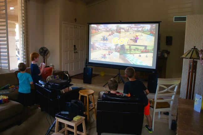 video games big screen