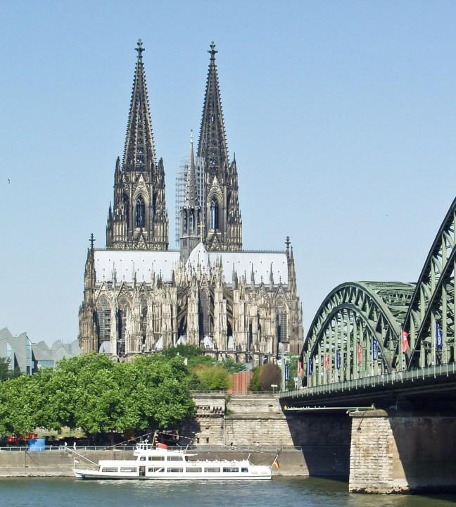 Kölner Dom von Deutzer Seite