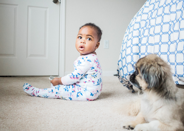 Looking for a little more joy in your life mamas? Being a new mom is beautiful, but can also be exhausting and stressful. Here is the simple way I live a joyful life even when it's hard.