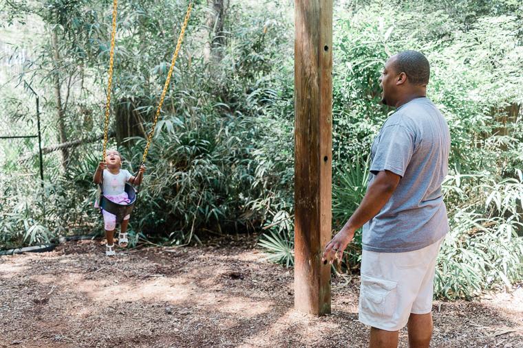 2nd birthday fun at Tallahassee museum playground