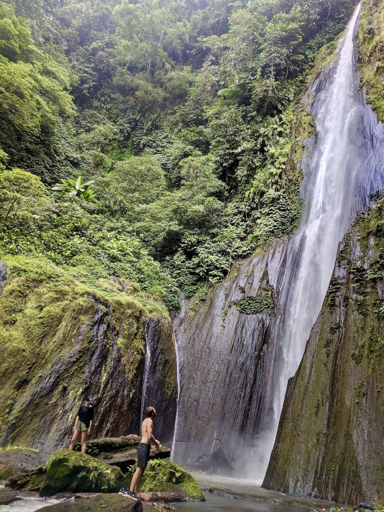 A Lovely Planet - North Sulawesi - Sarah & James - Pararangen Waterfall