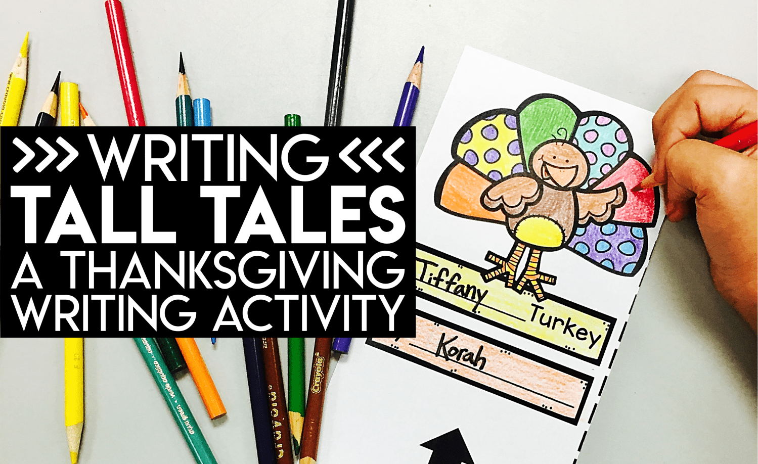 Writing Tall Tales: A Thanksgiving Writing Activity