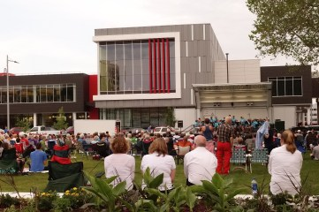 School concert at the library