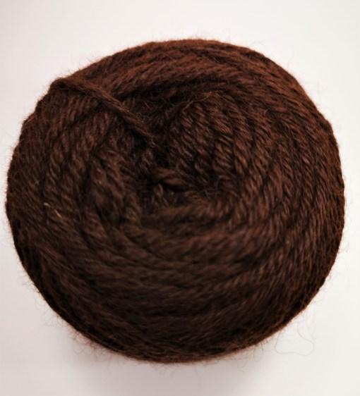 Alpakawolle dunkelbraun Mix