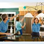 Image of maids cleaning for Alpenglow Cleaning Home Care page