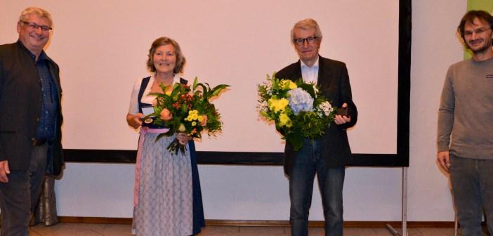 Hannelore Saam und Walter Schweitzer zu Ehrenmitgliedern ernannt