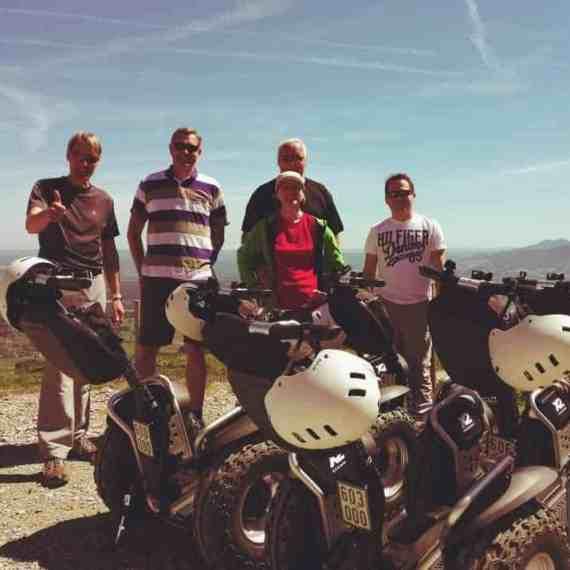 Gruppenfoto auf der Tregler Alm