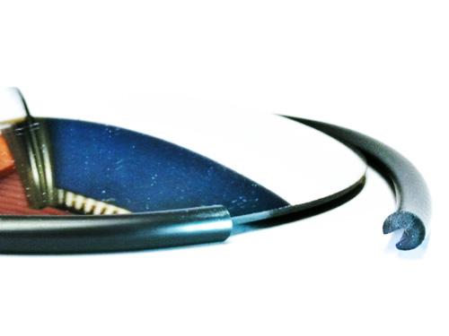 Cordón protector para espejos curvos y planos