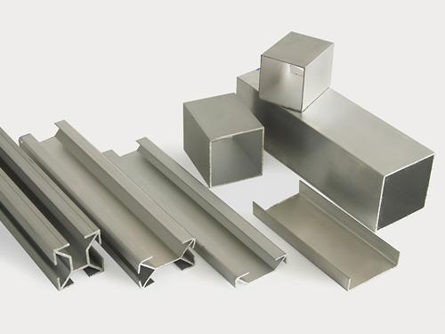 Piezas en aluminio para oficina