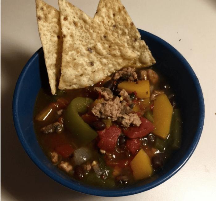 Recipe: Turkey Butternut Squash Chili by Katie Chung '20