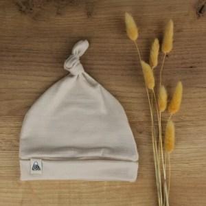 bonnet beige bébé merinos 2021