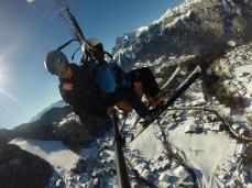 biplace ski