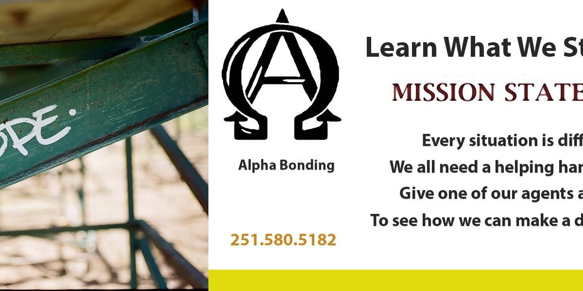 Alpha Bonding Mission Statement