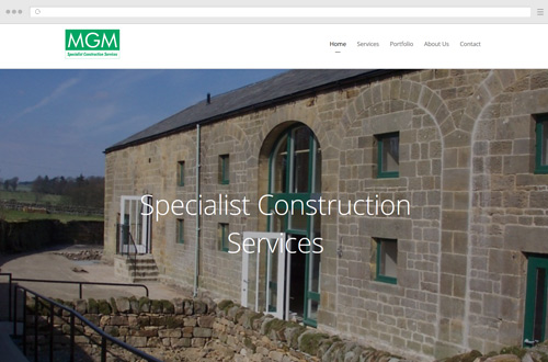 MGM Ltd Website