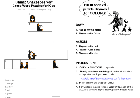 9-18-14 CS X word puzzle -colored chimps (1)