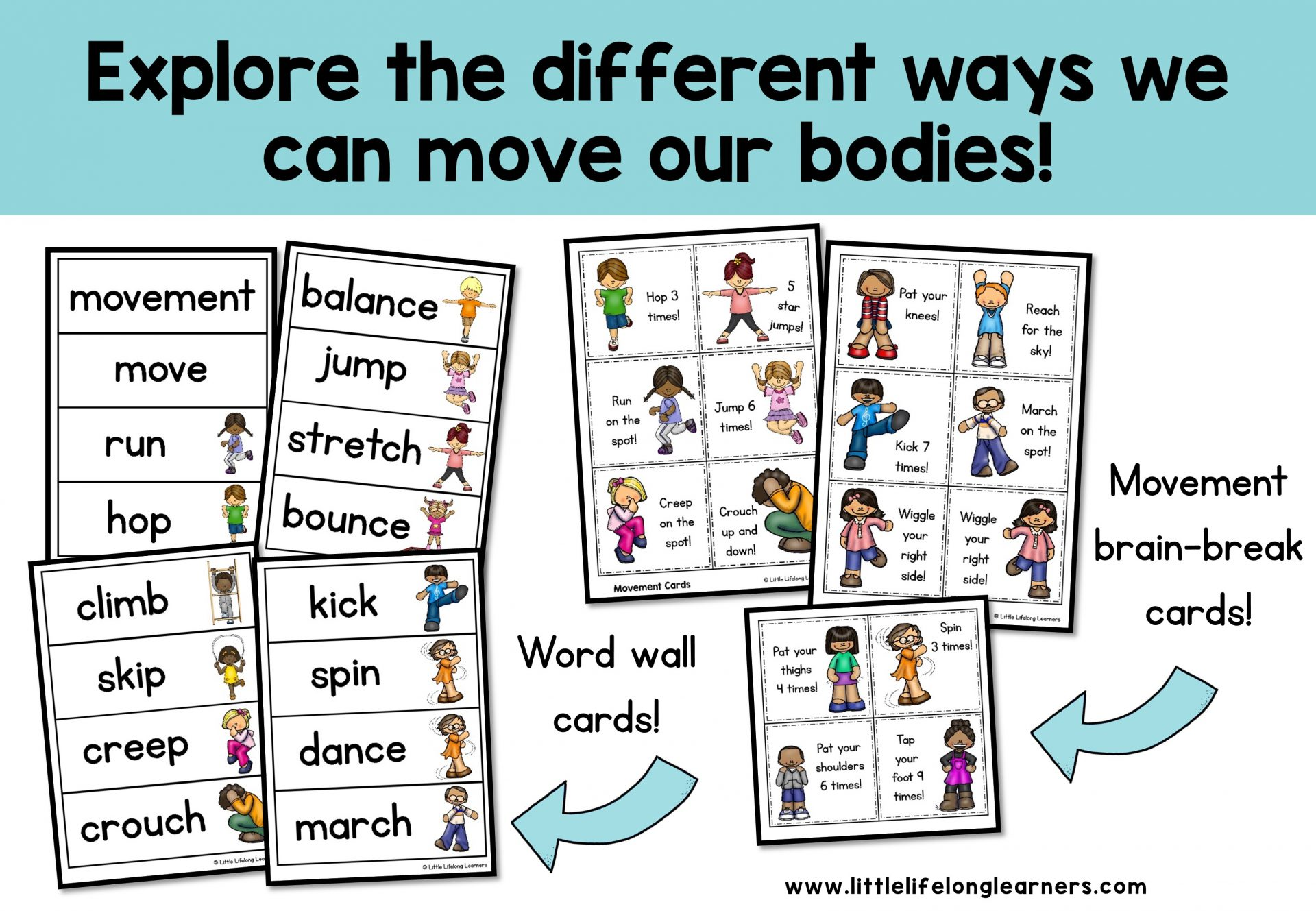 Body Movement Science Pack