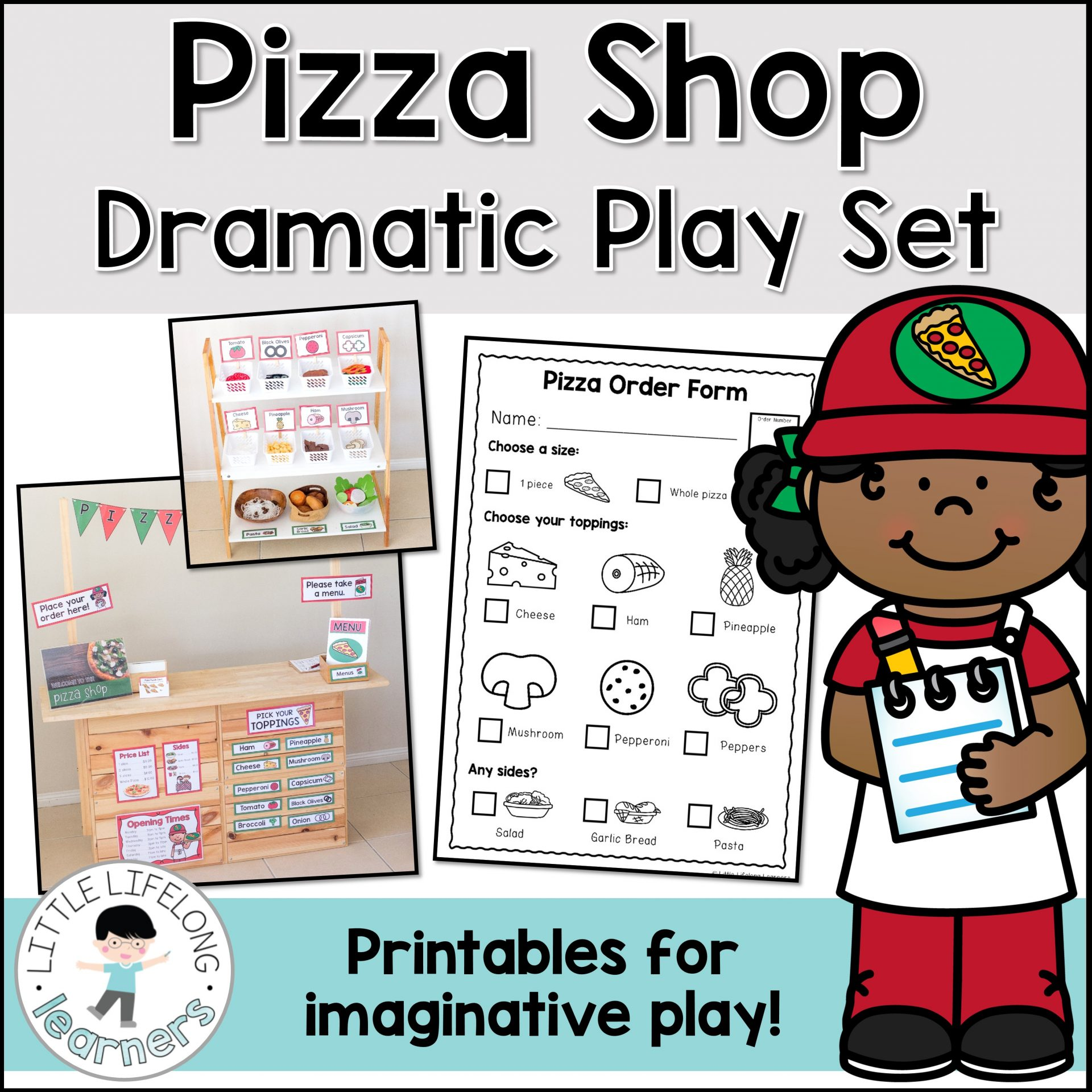 Pizza Dramatic Play Set