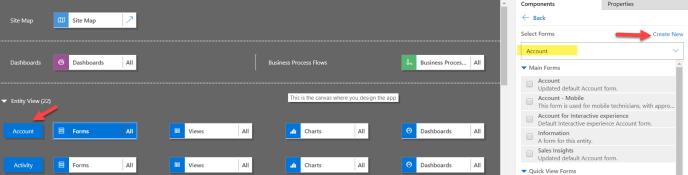 Add Entities in CRM Hub