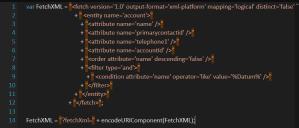 Create JS Dynamics CRM