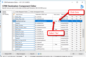 Dynamics CRM SSIS Fallback Lookup Option
