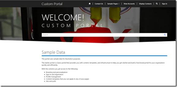 Login to Microsoft Dynamics Portal