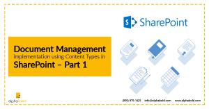 document management implementation sharepoint