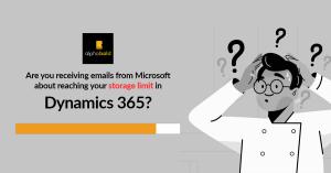crm storage limit solution