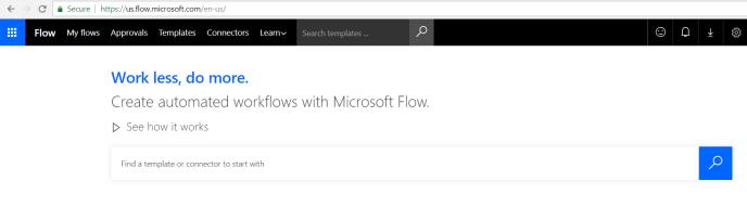 Excel sheet using Microsoft Flow