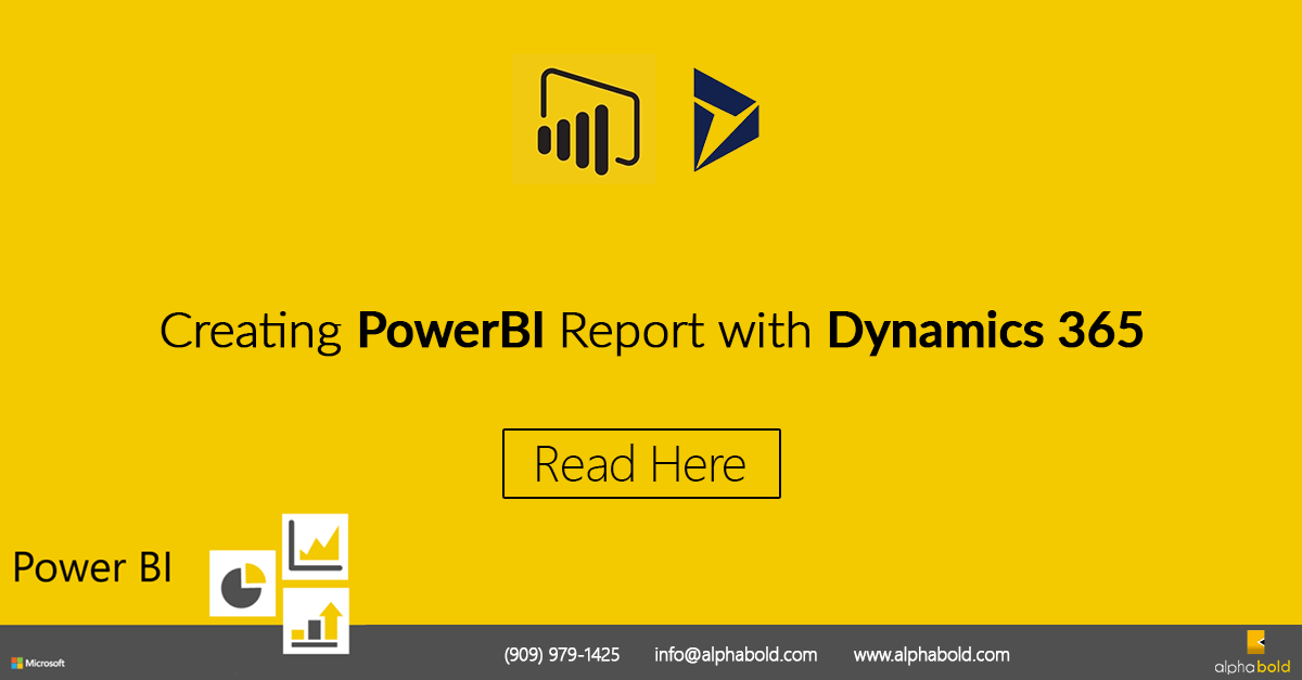 PowerBI Report Dynamics 365