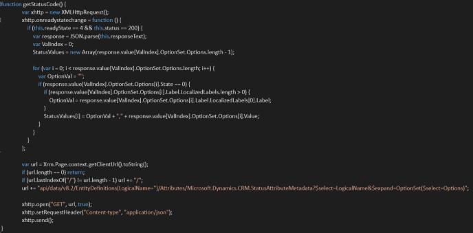 metadata api functions call