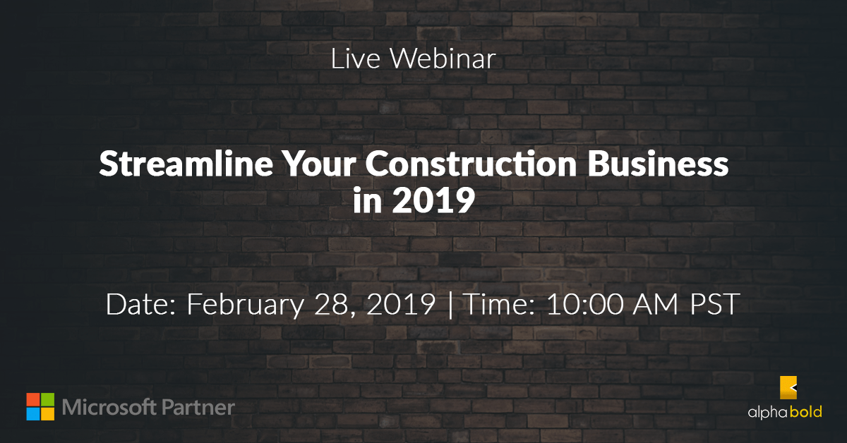 webinar boldconstruction