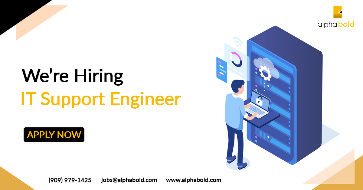 Image result for hiring IT Support Engineer