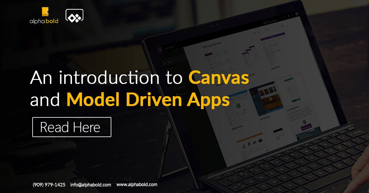 canvas and model driven apps powerapps