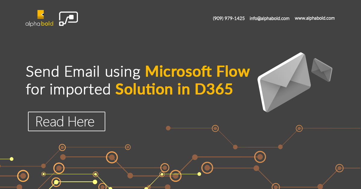 Send Email using Microsoft Flow