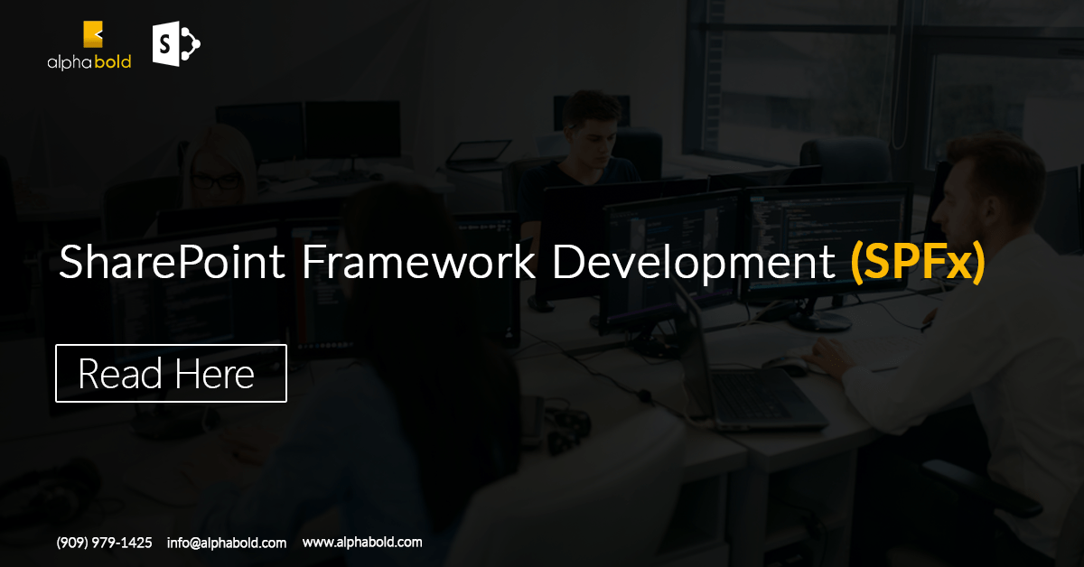 SharePoint Framework Development (SPFx)